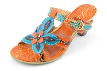 Corkys Shoes Candy Amber Turquoise