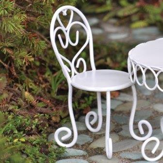 Fairy Garden Miniature Chair-Fairy Garden Miniature Chair