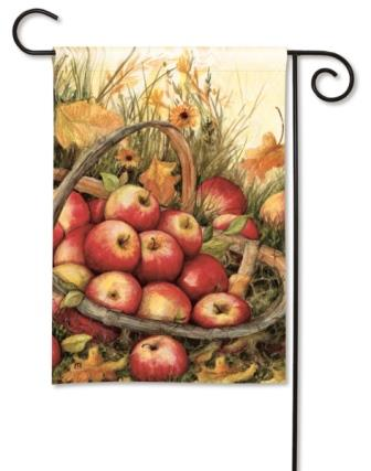 Garden Flag Apple Picking