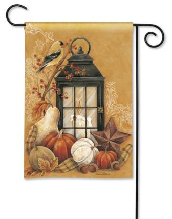 Garden Flag Autumn Lantern