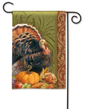 Garden Flag Thanksgiving Greeting
