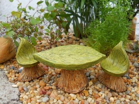 Fairy Garden Miniature Bistro Leaf (Set 3)-Fairy Garden Miniature Bistro Leaf (Set 3)