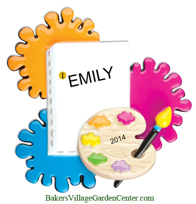 Personalized Christmas Ornaments Artist