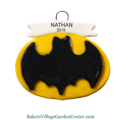 Personalized Christmas Ornaments Batman