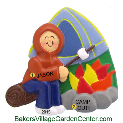 Personalized Christmas Ornaments Camper Male