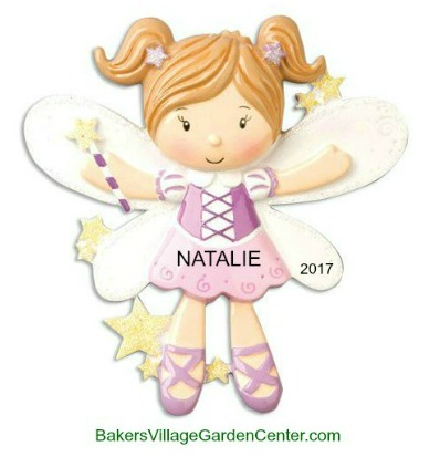 Personalized Christmas Ornaments Fairy