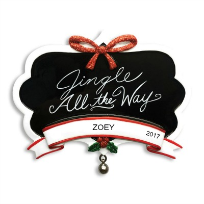Personalized Christmas Ornaments Jingle All the Way